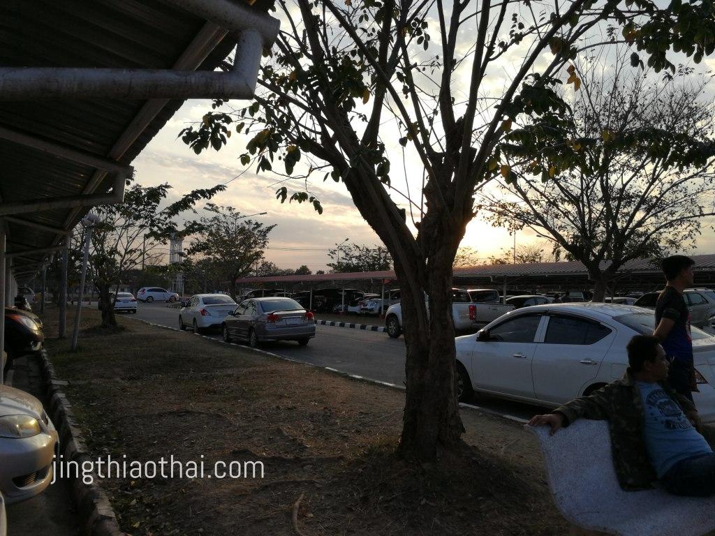 Udon Thani Airport_carpark